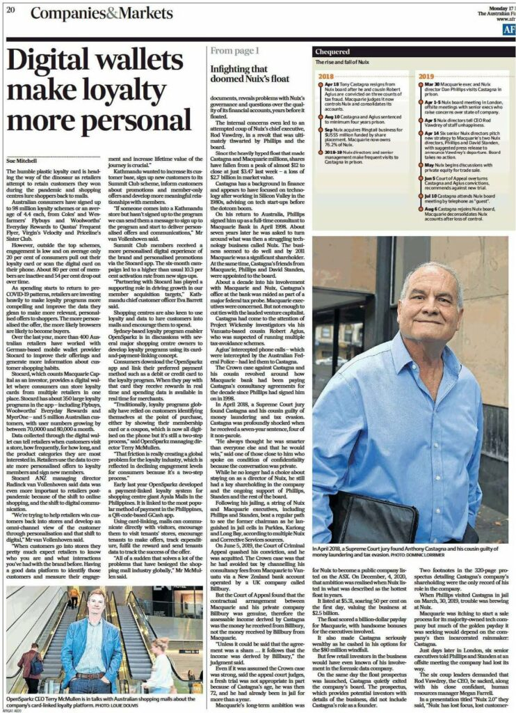 AFR interview terry mcmullen digital wallets make loyalty more personal